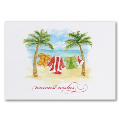 Florida christmas cards tropical holiday cards miami business greetings